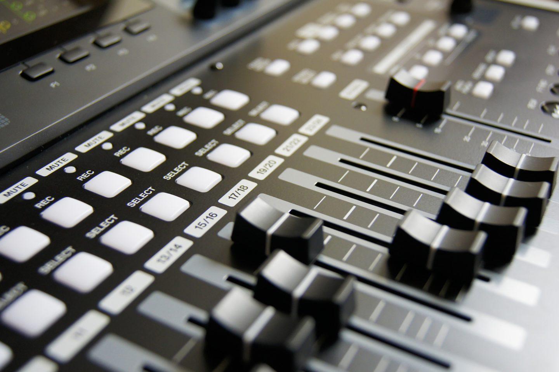 Panel de sonido.