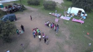 Juegos populares en el día de San Marcos. Castellar de Santiago